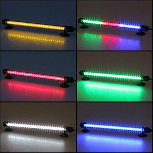 (30 LED Aquarium Fish Tank Waterproof Submersible Stick Strip Light ( RGB))