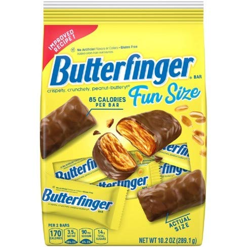 Butterfinger Fun Size (Pack of 18) by Generic (Image #1)