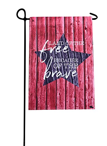 Cheap Patriotic Land Of The Free Outdoor Garden Flag