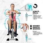 YOUR-MOVE-Mini-Cyclette-da-casa-Doppia-Pedaliera-Servoassistita-Per-Ginnastica-Attiva-Riabilitazione-Utilizzabile-Con-e-Senza-Motore-12-Velocita-6-Programmi-Timer-Distanza-Calorie-Telecomando