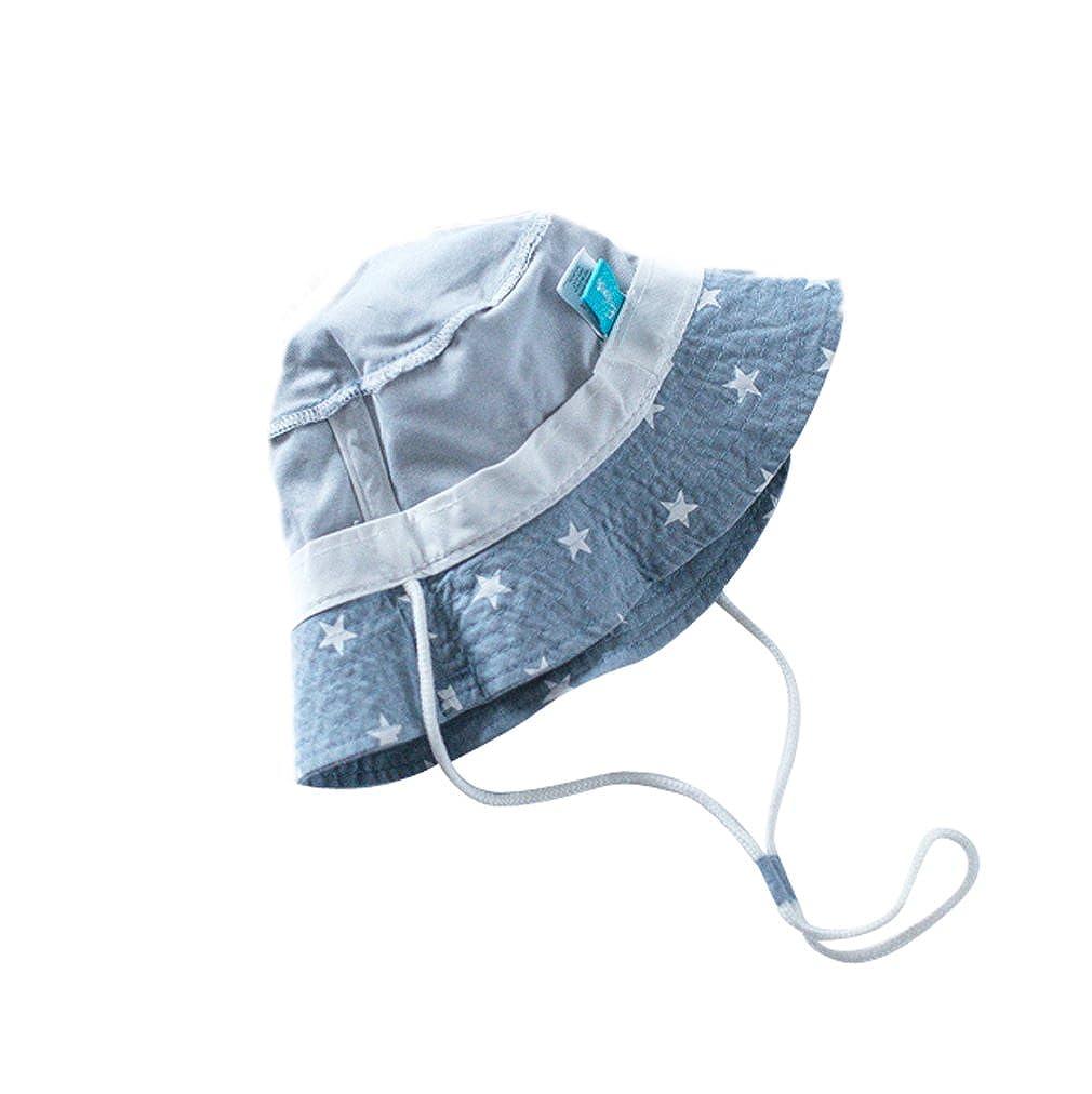 EOZY Chapeau de Soleil Plage Anti-UV Solaire pour Bébé Enfant Outdoor Coton   Amazon.fr  Vêtements et accessoires 41433d22640