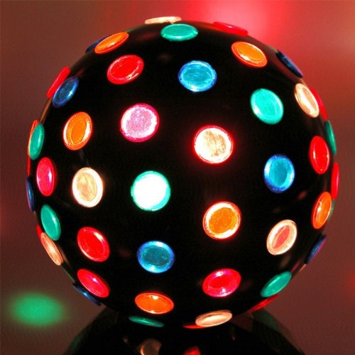 20W Halogen Party Magic Discokugel Discolicht Ø 22 cm ...