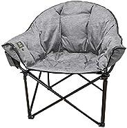 Kuma Outdoor Gear Lazy Bear Heated Chair Heather Grey