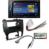 Pioneer AVH-200EX 2-Din 6.2 DVD/CD/iPhone/Android/Bluetooth Receiver Scosche NN1642B Single/Double DIN Install Dash Kit for 2007-12 Nissan Altima