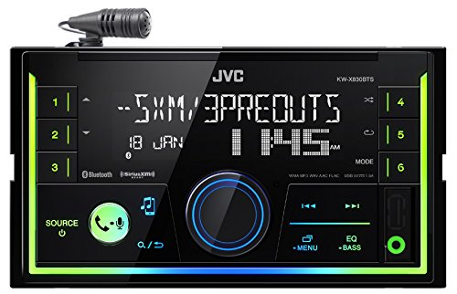 JVC 2-DIN Digital Media Receiver (KW-X830BTS)