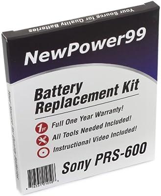 Kit de Reemplazo de la Batería para el Sony PRS-600 eReader con ...