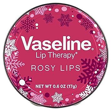 Rosy Lip Therapy Holiday Sweater Designed 0.6 oz By Vaseline dr. brandt pores no more pore refiner primer 0.5 oz