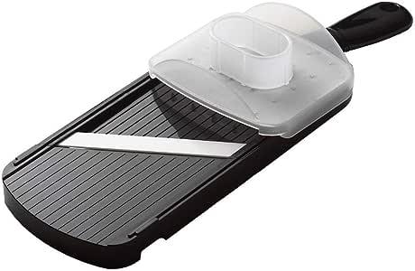 Kyocera Ceramic Mandolin Slicer Ceramic Adjustable Mandolin Slicer, Black, CSN-202-BK