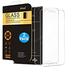 AILUN Screen Protector for Nexus 5X [2Pack],Tempered Glass for LG Google Nexus 5X,2.5D Edge,Ultra Clear,Anti-Scratch,Case Friendly-Siania Retail Package