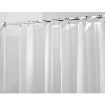 Amazon.com: InterDesign Mildew-Free PEVA 3 Gauge Shower Liner, X ...