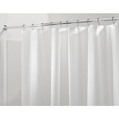 InterDesign PEVA 3 Gauge Shower Curtain Liner   Mold/Mildew Resistant, PVC  Free U2013