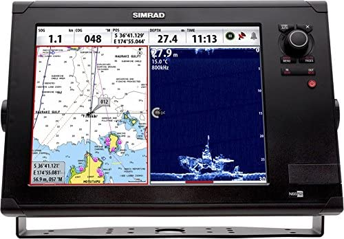 Simrad Plotter Nss12 Evo2 Multifunción Con Banda Ancha 4G: Amazon ...