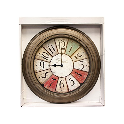 Kole Imports Paris Wall Clock