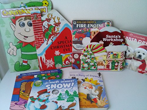 - Christmas Board Books: santa Paws; Santas Workshop; Special Christmas Eve; the Christmas Rocking Horse; You Can Drive a Fire Engine; Sing a Song of Sixpence; Shimmery Glimmery Snow