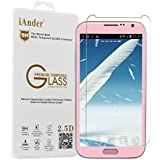 iAnder Samsung Galaxy Note 2 Premium Tempered Glass Screen Protector - Samsung Galaxy Note 2 Screen Protector