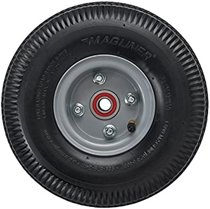 Magliner 121060 Pneumatic Hand Track Wheel 10 x 3.5 in.