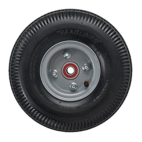 Magliner 121060 Rueda Neumática para Carretilla de Mano: Offset Hub Offset Hub / Air Filled Tire with Inne: Amazon.es: Industria, empresas y ciencia