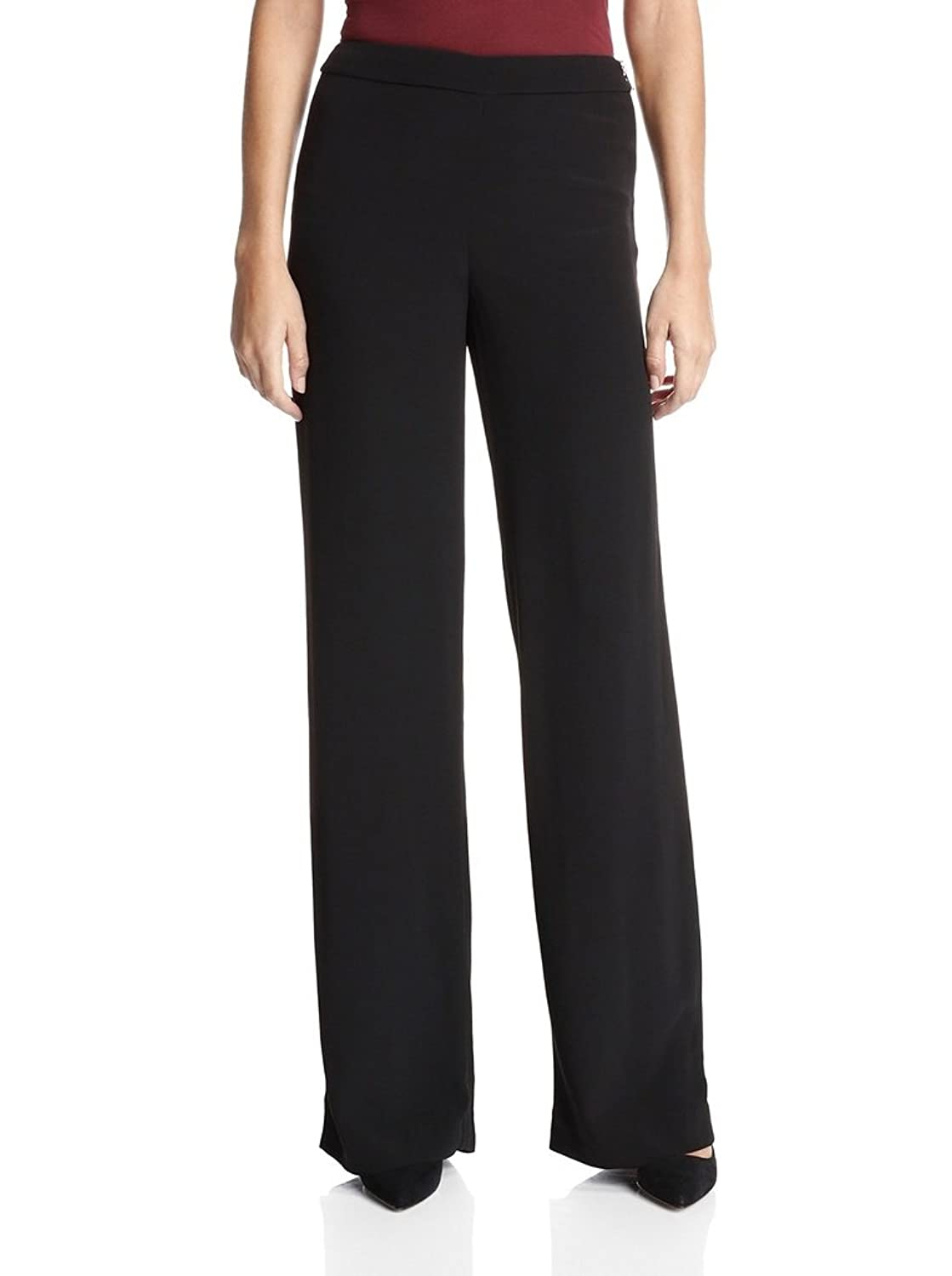 French Connection Womens Emmeline Crepe Flared Trouser