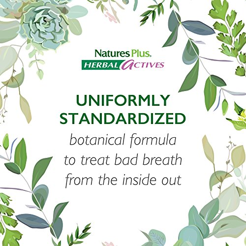 Natures Plus Herbal Actives Optifresh Herbal Breath Gels (12 Pack) - 50 Count - Maximum Potency Natural Bad Breath Remedy, Herbal Halitosis Relief - 300 Total Serving by Nature's Plus (Image #6)