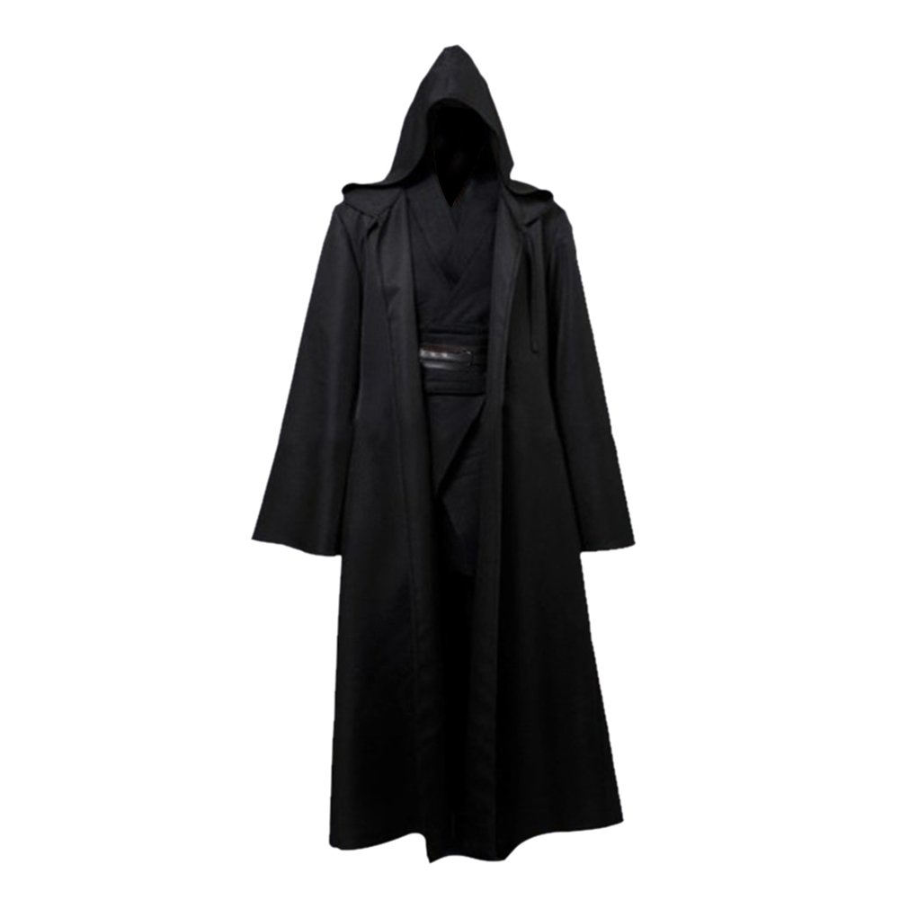 RedDhong Halloween Cosplay Costume Adult Knight Fancy Cool Hooded Robe Cloak