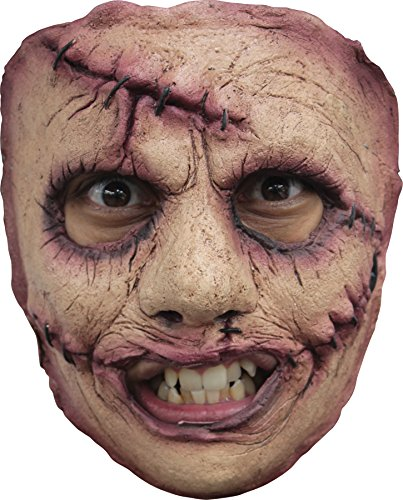 [UHC Serial Killer Theme Party Haunted House Creepy Latex Face Mask] (Serial Killer Halloween Costume)