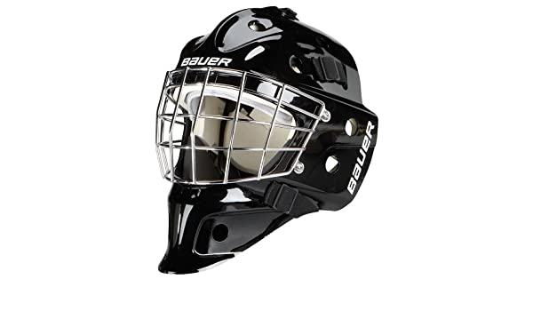 / Youth Bauer goaliemaske nme 3/  negro