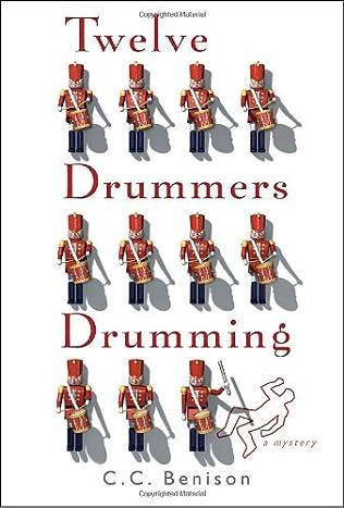 book cover of Twelve Drummers Drumming
