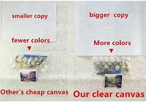 Malen Nach Zahlen DIY Monkey Abstract /Ölgem/älde Raucher Wohnzimmer Wandkunst Home Decorations 40X50Cm-Frameless