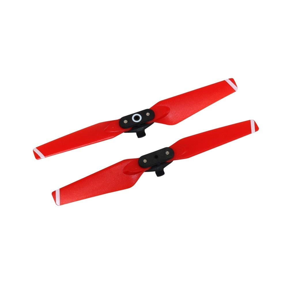 Tineer Colorful Propeller Props Blades Quick Release Folding Propellers Compatible with DJI Spark Drone Quadcopter