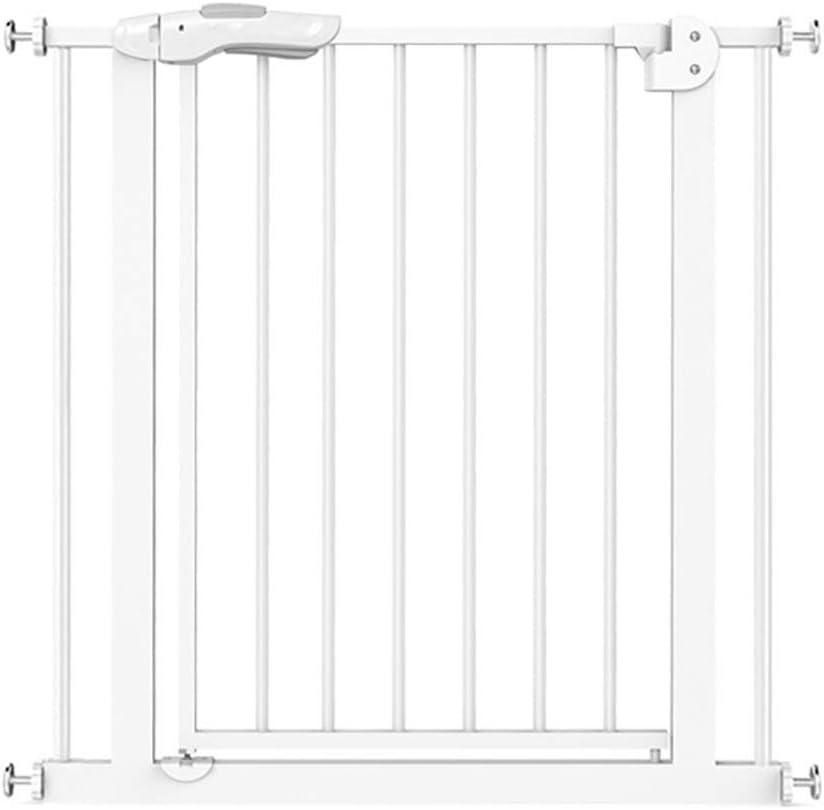 育児 ベビーゲート 階段廊下戸口のために取り付けられた屋内ホワイト安全ゲイツイージーオープンエクストラワイドベビーゲート圧力 ベビーフェンス (Size : 165-174cm)