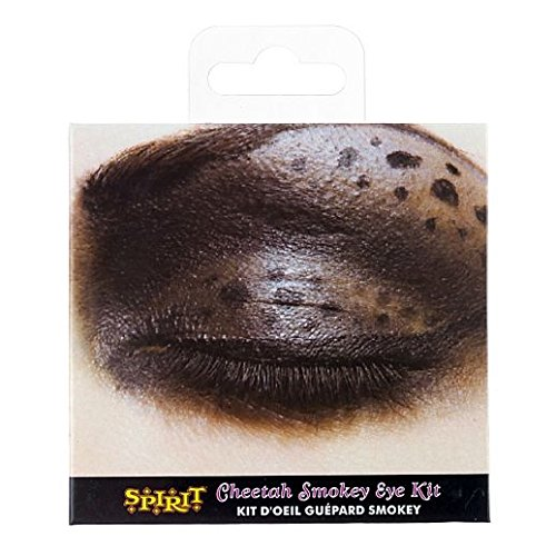 Fancy Face Paint Color Halloween Cheetah Eyeshadow Kit]()