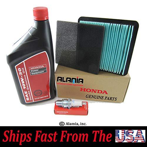 Alamia,Inc. Genuine Honda EU3000is Generator, Maintenance Tune up Kit, Filter, Oil, Spark Plug, Fits Honda EU3000is,