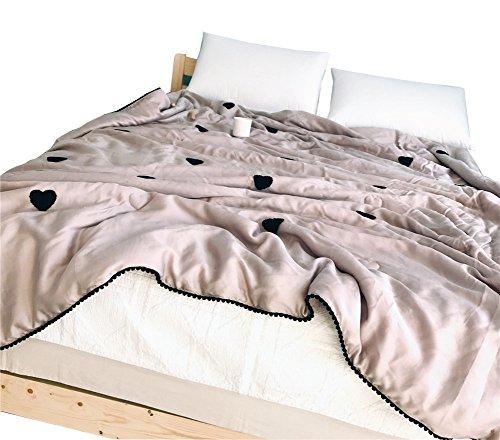 200230cm ZSSHJ Quilt, été Modal Naked processus de Sommeil Simple Double lavé Coton Peut être lavé 150  200cm (Taille   200  230cm)