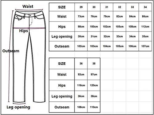 Jeanshsoen Jeans Destroy Regular Blau Straight Men Leg 2018 Pantalones New Mens Plisados Jeans Lannister Jeans con Patch Nner Vintage R Fashion Skinny Denim Desgastados Eqtga