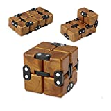 SIXTOY Infinity Cube Fidget Toy EDC Killing Time Decompression Reduce Anxiety Puzzle Toy for Children and Adults Round Angle