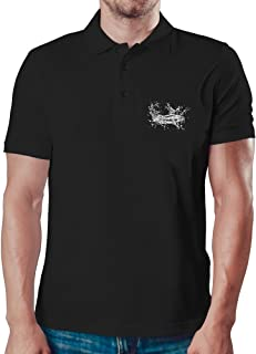 Eddany Electric Catfish sketch Polo-Hemd