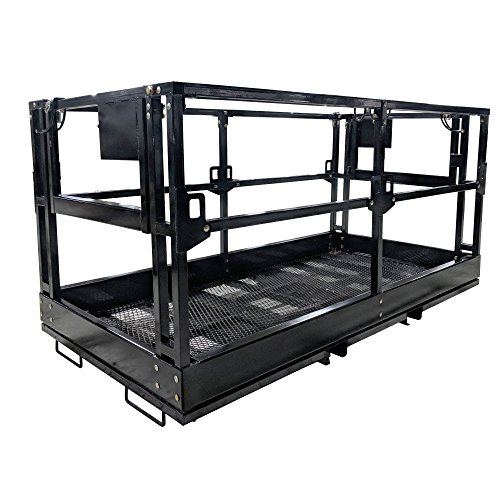 Titan 4'x8' Telehandler Work Platform Man Basket by Titan Attachments (Image #6)