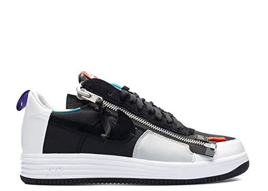 size 40 e3a54 f11d5 Nike NikeLab Lunar Force 1 SPAcronym 698699-002 BlackWhiteGreen