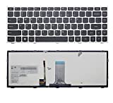 New US Layout Laptop backlit Keyboard (With Silver Frame) For Lenovo B40-30 B40-45 B40-70 B40-80 B41-30 B41-35 B41-80 Flex 2-14 Z40-70 Z40-75 Z41-70 Flex 2-14D
