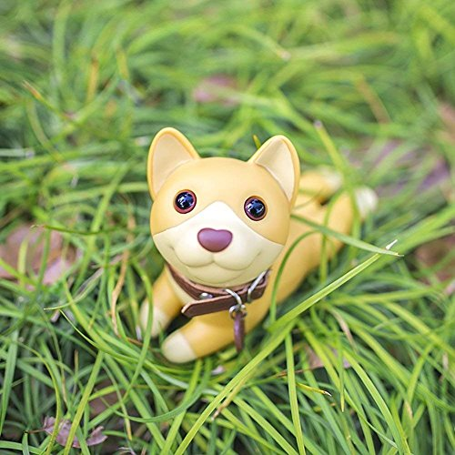 Cute Dog Door Stop, Decorative Door Stopper Wedge Bull Terrier Gift Doorstop for Christmas Decoration by DomeStar (Corgi) by Pindia (Image #1)