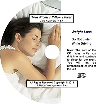 Amazon com: Pillow Power Weight Loss CD from Tom Nicoli: Health