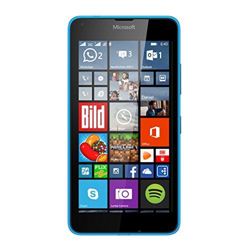 Microsoft Lumia 640 XL Dual-SIM Smartphone (5,7 Zoll (14,5 cm) Touch-Display, 8 GB Speicher, Windows 8.1) blau