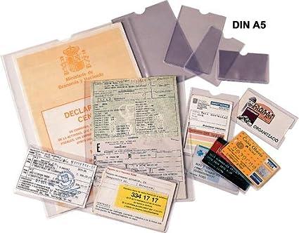 ESSELTE 46010 - Caja 100 portacarnets 170Q 171 x 221 mm (Tamaño ...