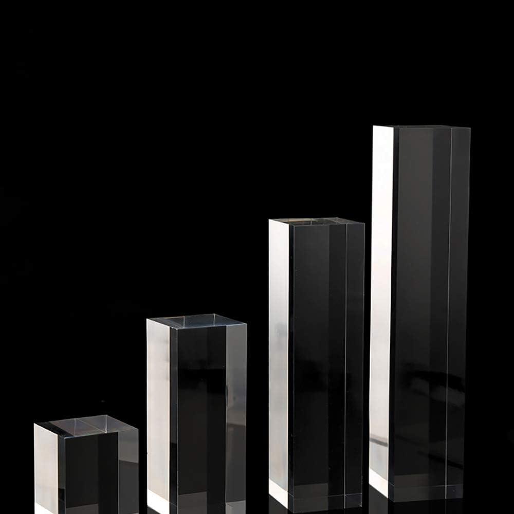Svea Display Espositore in Acrilico Trasparente di Alta qualit/à espositore per Negozi e fiere 4 Blocchi