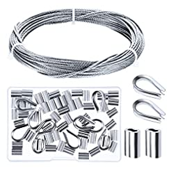 Canomo Cable Railing Kits Includes 1/16 ...