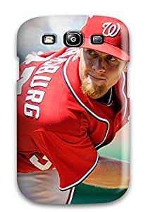 Hot washington nationals MLB Sports & Colleges best Samsung Galaxy S3 cases