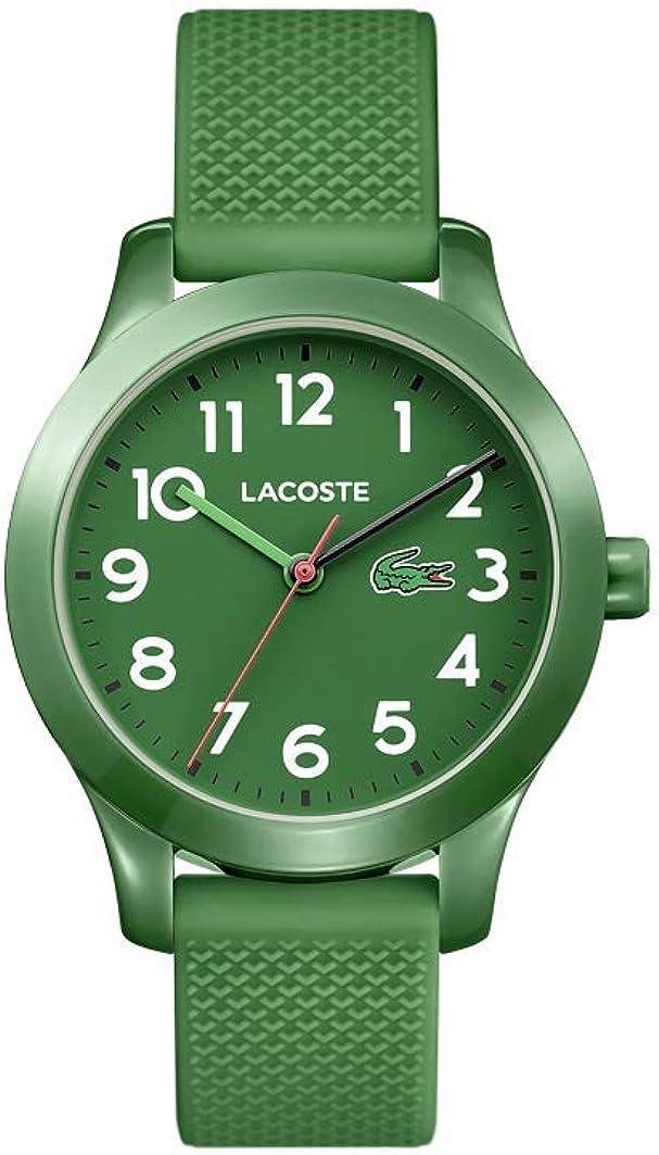 Lacoste Reloj Análogo clásico para Niños de Cuarzo con Correa en Silicona 2030001