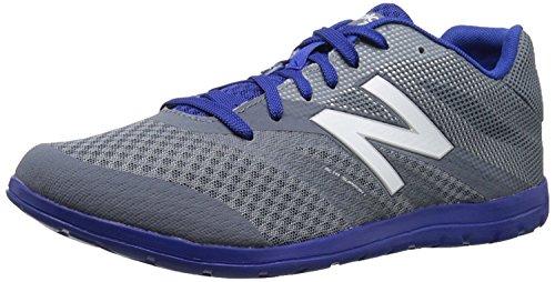 New Balance Mens MX730V2 Training Shoe, Plateado/Azul, 37.5 EU/4.5 UK