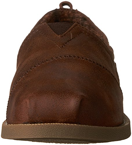 BUTTONED Ons Women's Skechers CHILL LUXE Brown Slip UP wFz7xP