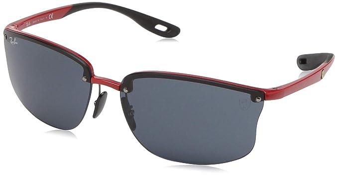 Ray-Ban 0RB4322M Gafas de sol, Red, 40 para Hombre: Amazon ...